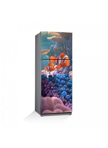 Disney Kayıp Balık Nemo-4 Buzdolabı Sticker Renkli